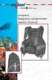 passport buoyancy compensator owner's manual - Aqua Lung