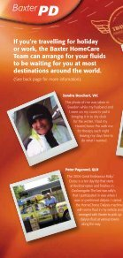 Travel Club Testimonials - RenalInfo - Page 2