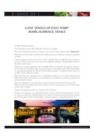 """8-Day """"jewels of italy tour"""" roMe, florence, Venice - Red Travel"""