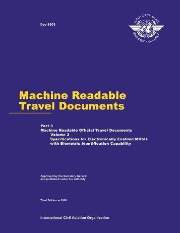 Machine Readable Travel Documents - ICAO
