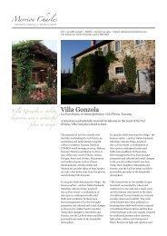 Villa Gonzola - Merrion Charles