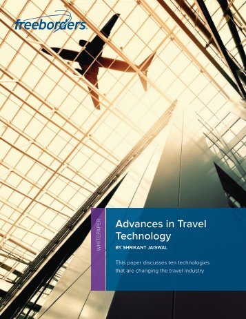 Advances in Travel Technology - Freeborders