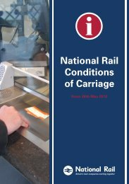 National Rail Conditions of Carriage - National Rail Enquiries