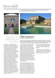 Villa Casanova - Merrion Charles