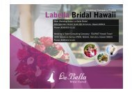 Labella Bridal Hawaii Labella Bridal Hawaii