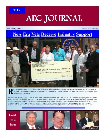 AEC JOURNAL - Association of Electrical Contractors
