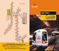 Guide - Delhi Metro Rail Corporation