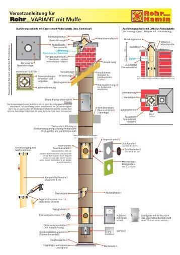 versetzanleitung f r kamin und betonwerk rohr. Black Bedroom Furniture Sets. Home Design Ideas