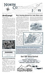 New housing planned for Lake Shore area Contest! (Re) - Northeast ...