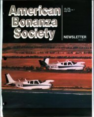 July 1988 - American Bonanza Society