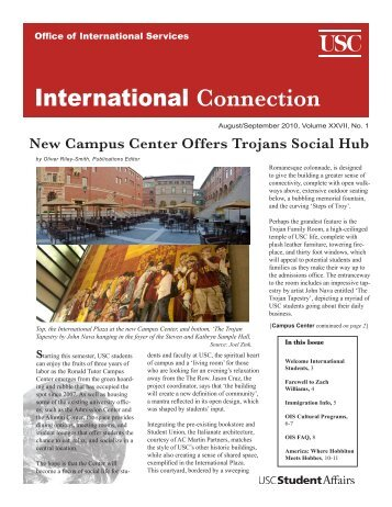 International Connection - USC Student Affairs Information ...