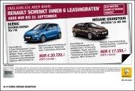 nur € 20.720,– nur € 17.350,– - bei Renault Liesing!