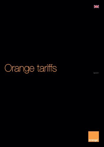 Orange tariffs
