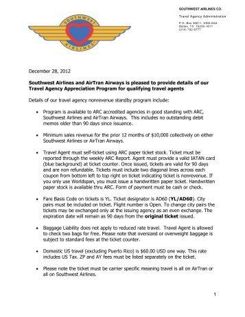 Reduced Rate Details - AirTran Airways