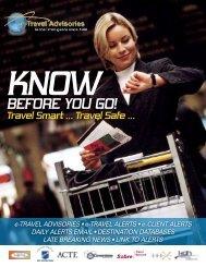 View this brochure - e-Travel Advisories
