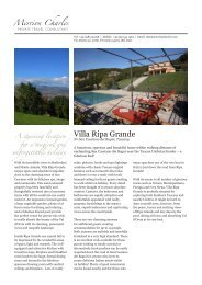 Villa Ripa Grande - Merrion Charles