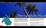fact sheet - Vanuatu Tourism Office