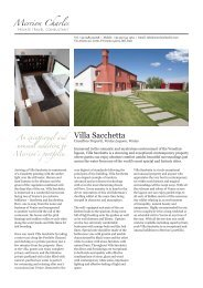 Villa Sacchetta - Merrion Charles