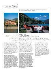 Villa Cima - Merrion Charles