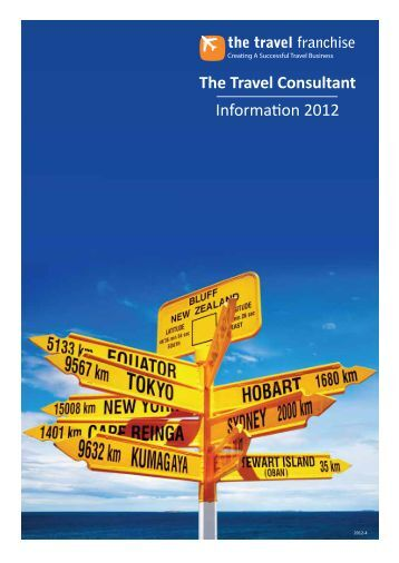 The Travel Consultant - Travel Franchise