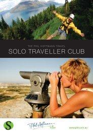 the Phil Hoffmann Travel Solo Traveller Club