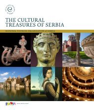THE CULTURAL TREASURES OF SERBIA - National Tourism ...