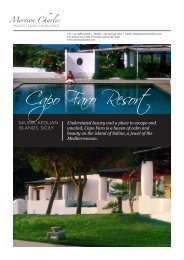 Capo Faro Resort - Merrion Charles
