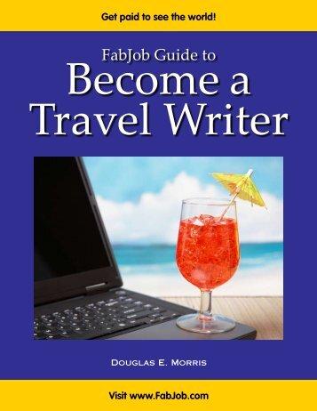 FabJob Guide to Become a Travel Writer - Fabjob.com