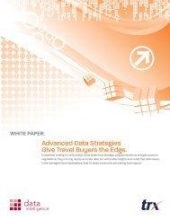 Advanced Data Strategies Give Travel Buyers the Edge.