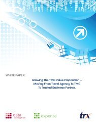 Growing The TMC Value Proposition – Moving From ... - Trx.com