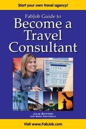 Become A Travel Consultant - Fabjob.com
