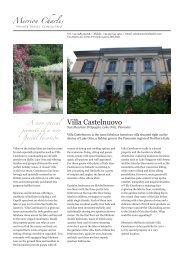 Villa Castelnuovo - Merrion Charles