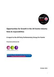 Opportunities for Growth in the UK Events Industry - Business Visits ...