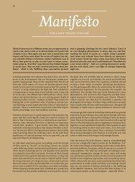 Manifesto - Brand Report 2011