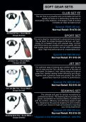 Equipment Selection Guide - Valid from August 2012 - Timeout Scuba - Page 5