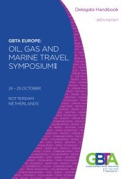 OIL, GAS AND MARINE TRAVEL SYMPOSIUM - The Global ...