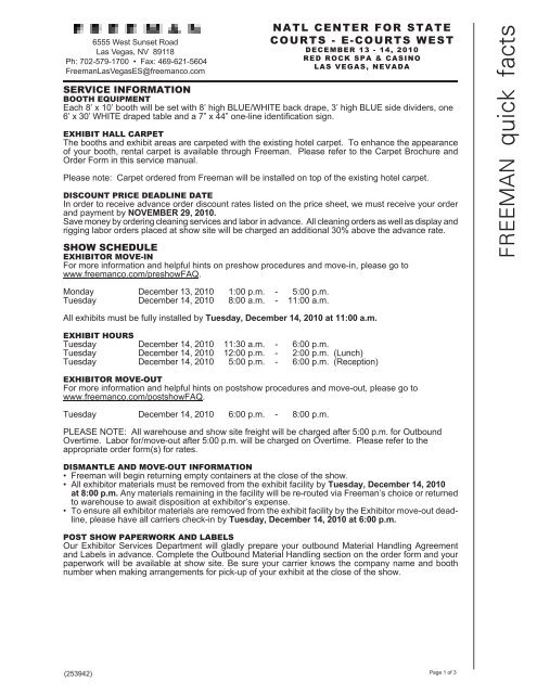 LAS VEGAS FIRE SAFETY REGULATIONS - Robust