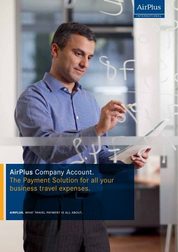 Airplus. What Travel Payment Is All About. - Event Advantage ...