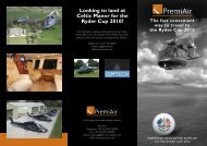 Looking to land at Celtic Manor for the Ryder Cup 2010? - Simtech