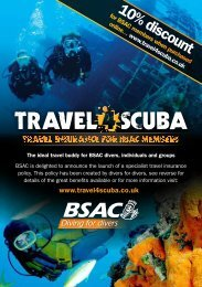 BSAC Is Delighted To Announce The Launch Of - TRAVEL 4 ...