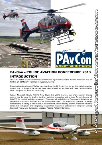 Introduction to event - The Police Aviation Conference