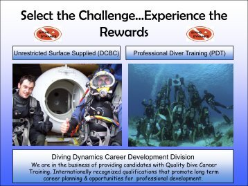 GO PRO!! Career Training Guide - Diving Dynamics