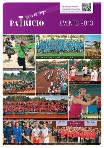 können Sie sich den Event-Flyer zu - Patricio Travel