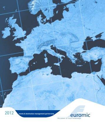 2010 events & destination management partnership - Euromic