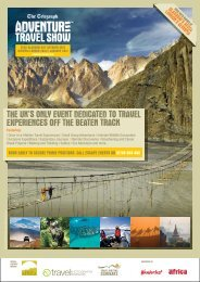 the uk's only event dedicated to travel experiences - Adventure ...