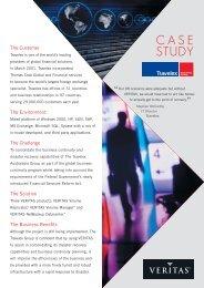 11905 Travelex Case Study - eval.veritas.com
