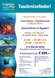 Infos hier - Travel Divers