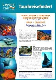 Informationen hier - Travel Divers