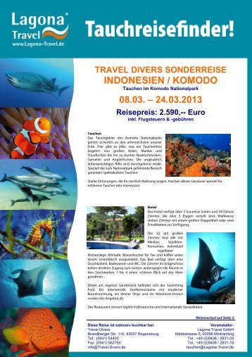 Informationen hier - Travel Divers
