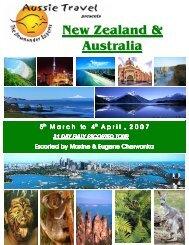 New Zealand & Australia - Aussie Travel